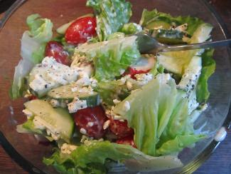 greek salad « Dad's Recipes